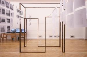 Heidi Schatzl, Haus 44, Ausstellungsansicht, Landesgalerie Linz, 2009
